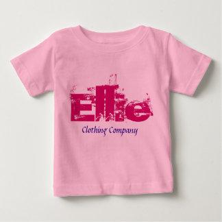 Camisetas del bebé de Ellie Name Clothing Company