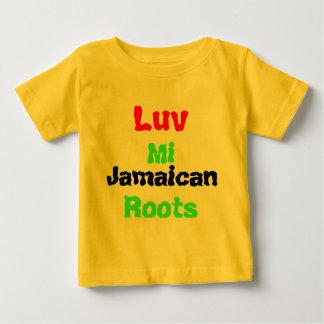 Camisetas del bebé de Jamaica