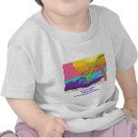 Camisetas del bebé de la playa de Pichilemu
