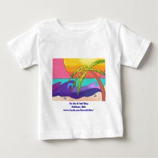 Camisetas del bebé de la playa de Pichilemu Playeras