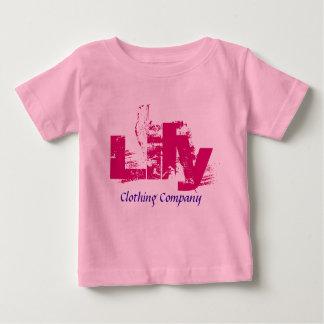 Camisetas del bebé de Lily Name Clothing Company