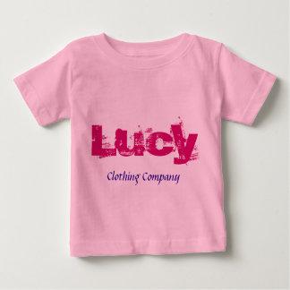 Camisetas del bebé de Lucy Name Clothing Company