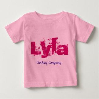 Camisetas del bebé de Lyla Name Clothing Company