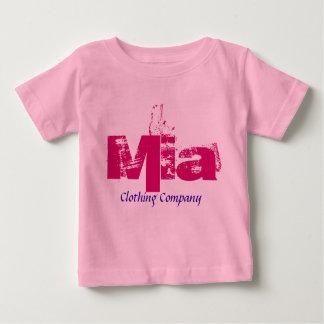 Camisetas del bebé de Mia Name Clothing Company