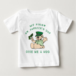 Camisetas del bebé del día de mi 1r St Patrick