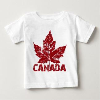 Camisetas del bebé del recuerdo de Canadá de la Playera