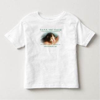 Camisetas del bebé del RONRONEO