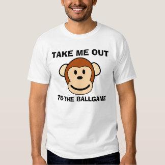 Camisetas del béisbol, divertidas camisas