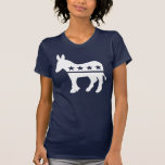 Camisetas del burro de Demócrata