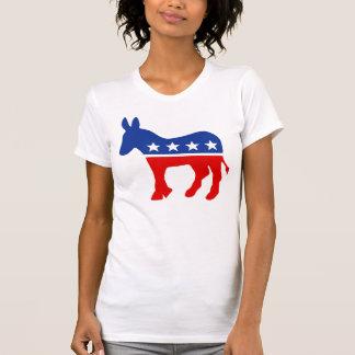 Camisetas del burro de Demócrata Remeras