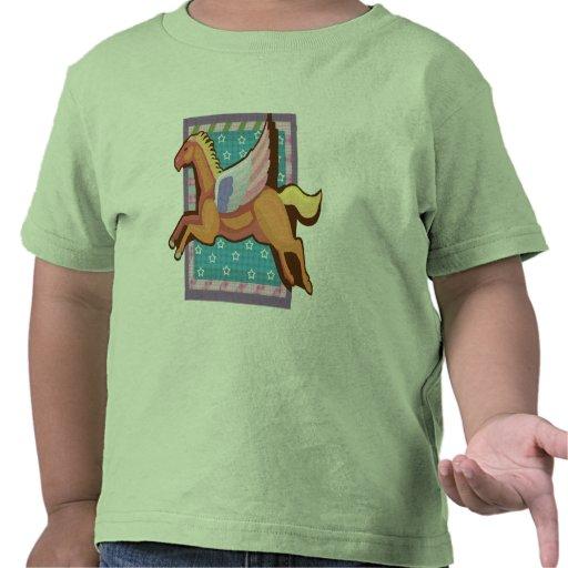 Camisetas del caballo de los niños y regalos del