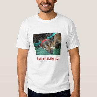 Camisetas del camisetas del navidad del perrito remera