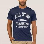 Camisetas del campeón del tablaje de All Star