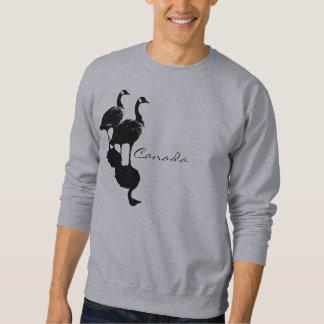 Camisetas del canadiense de la camiseta de los sudadera con capucha