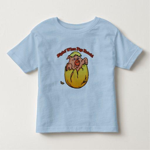 Camisetas del cerdo y regalos del cerdo