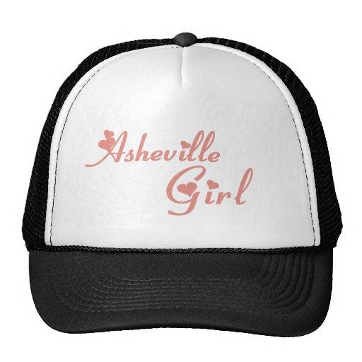 Camisetas del chica de Asheville Gorras