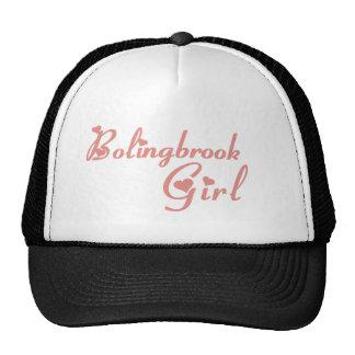 Camisetas del chica de Bolingbrook Gorros Bordados
