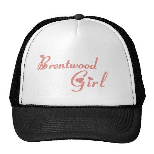 Camisetas del chica de Brentwood Gorros