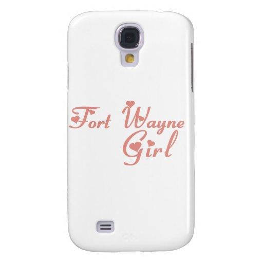Camisetas del chica de fuerte Wayne Funda Para Galaxy S4
