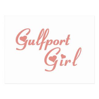 Camisetas del chica de Gulfport Postal