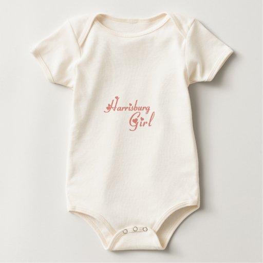 Camisetas del chica de Harrisburg