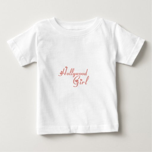 Camisetas del chica de Hollywood
