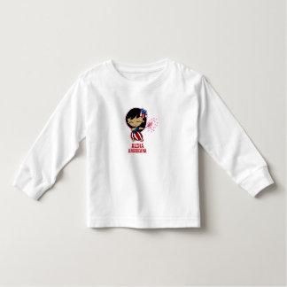 Camisetas del chica de Hula del petardo de las Playera