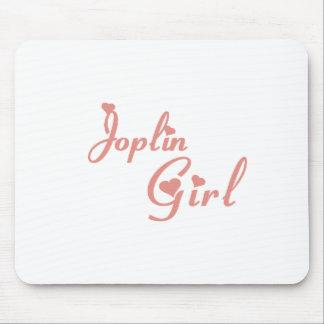 Camisetas del chica de Joplin Tapete De Ratón