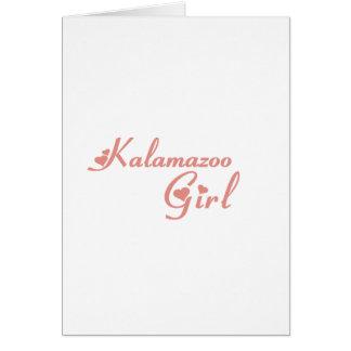 Camisetas del chica de Kalamazoo Felicitacion