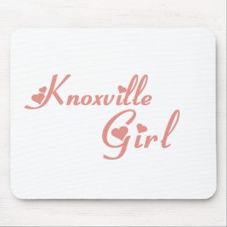 Camisetas del chica de Knoxville Alfombrillas De Raton