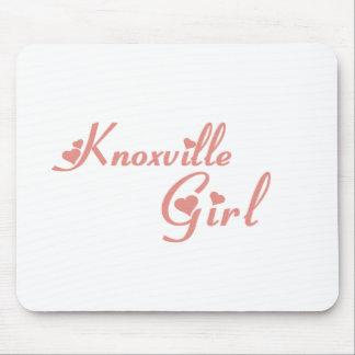 Camisetas del chica de Knoxville Alfombrilla De Ratón
