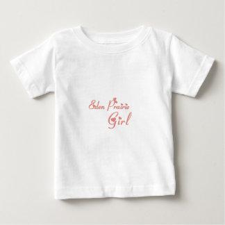 Camisetas del chica de la pradera de Eden Playeras