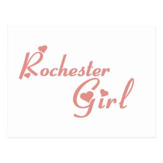 Camisetas del chica de las colinas de Rochester Postal