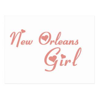Camisetas del chica de New Orleans Postal