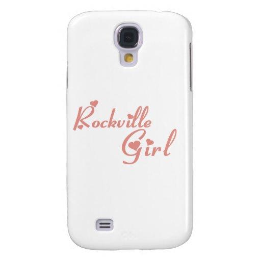 Camisetas del chica de Rockville Funda Para Galaxy S4
