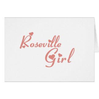 Camisetas del chica de Roseville Felicitaciones