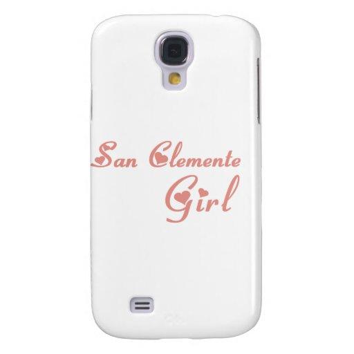 Camisetas del chica de San Clemente