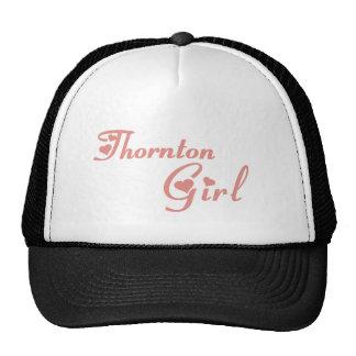 Camisetas del chica de Thornton Gorros