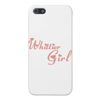 Camisetas del chica de Whittier iPhone 5 Protector