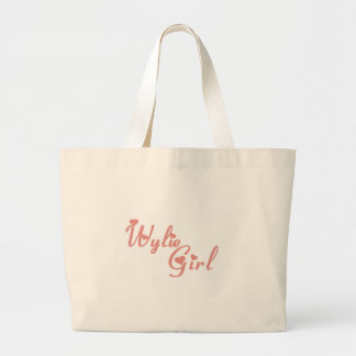 Camisetas del chica de Wylie Bolsa