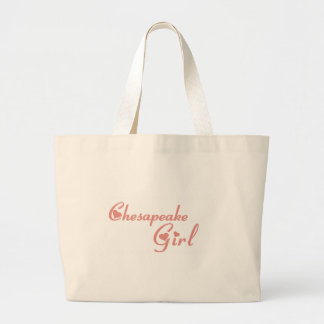 Camisetas del chica del Chesapeake Bolsa De Mano