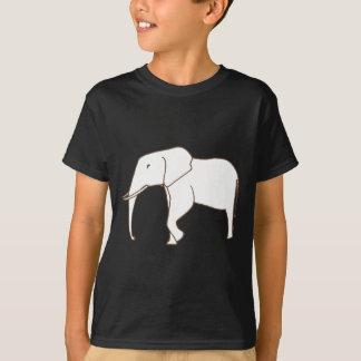 Camisetas del colorante - dibujo de esquema del