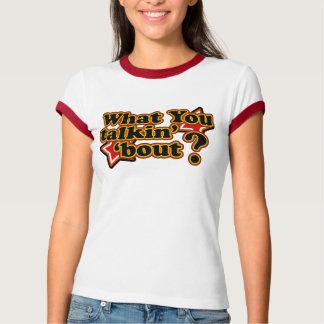 Camisetas del combate de Talkin retro de los años Polera