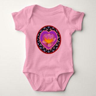 Camisetas del corazón playeras