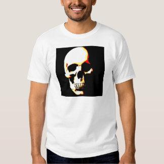 Camisetas del cráneo: Punk de la roca del arte de Camisas