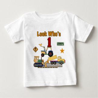 Camisetas del cumpleaños de los vehículos de la polera