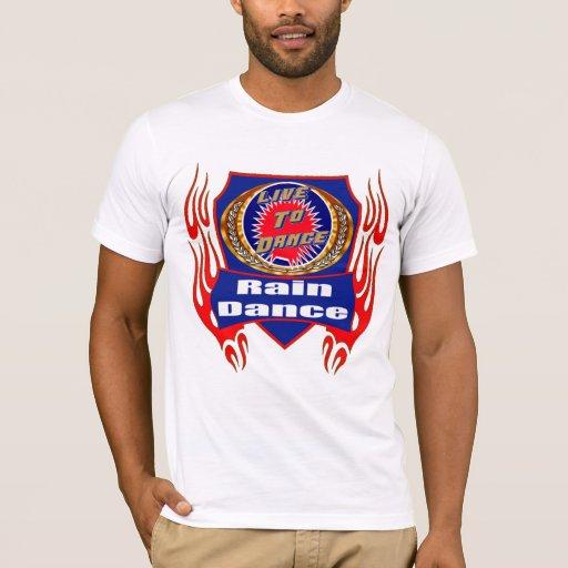 Camisetas del desgaste de la danza de lluvia