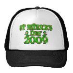 Camisetas del día 2009 de St Patrick Gorras