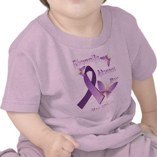Camisetas del día de la conciencia del Fibromyalgi