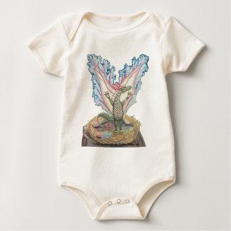 Camisetas del dragón del bebé para todas las